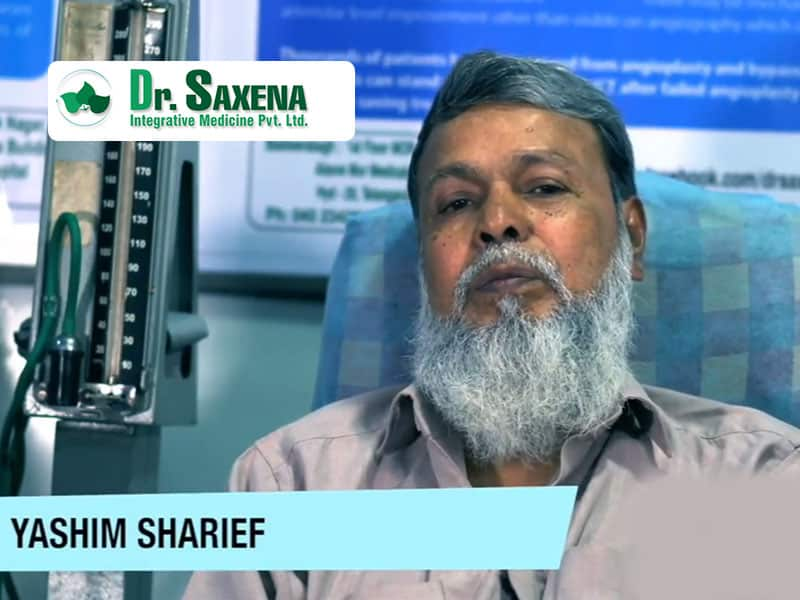 Watch Mr. Yashim Talk About How Dr. Saxena Helped Him Walk After Chemotherapy.