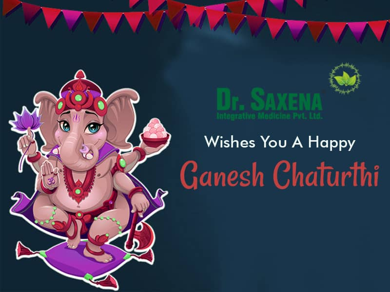 Dr. Saxena Clinic Wishing You A Very Happy And Joyful Ganesh Chaturthi