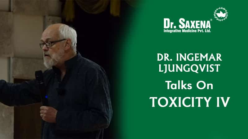 Dr. INGEMAR LJUNGQVIST TALKS ON TOXICITY 4