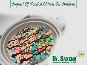 Impact Of Food Additives On Children